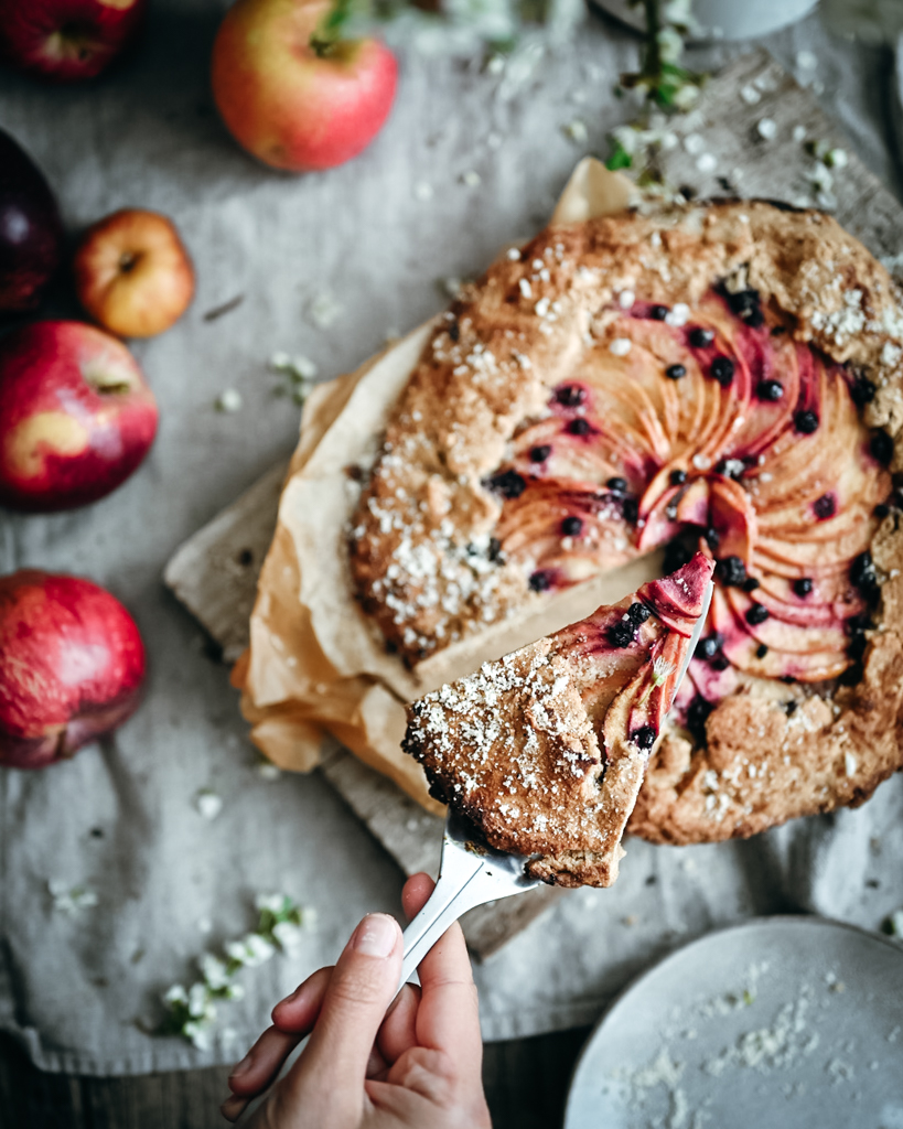 Gluten-free Ginger Apple Tart